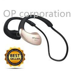 ซื้อ Awei หูฟังบลูทูธ Bluetooth Sports Stereo Headset รุ่น A885Bl Gold Awei ถูก