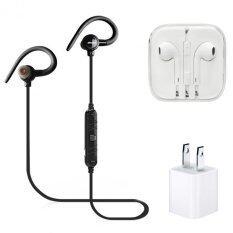 ขาย Awei Magnet Wireless Sports Ear Hook With Mic A620Bl ดำ หูฟังเกรดA Adapterusb ออนไลน์