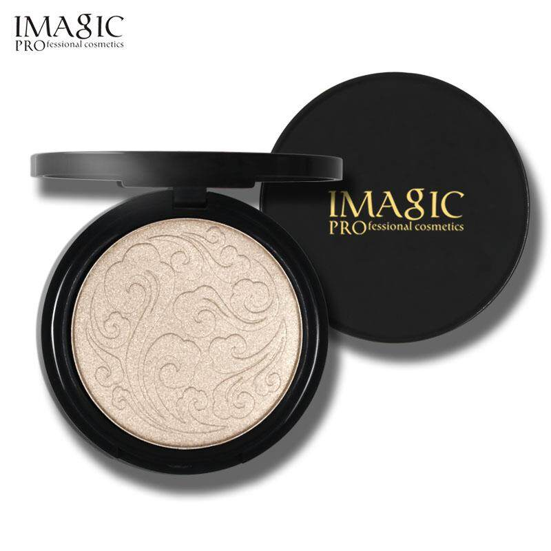 Imagic ไฮไลท์หน้า ฉ่ำวาว มี 3สี สีทอง สีไข่มุก สีพีช Highlighter Powder Makeup Professional Brightening Facial Contour Highlighter Powder 3 Color For Choose Fa107.