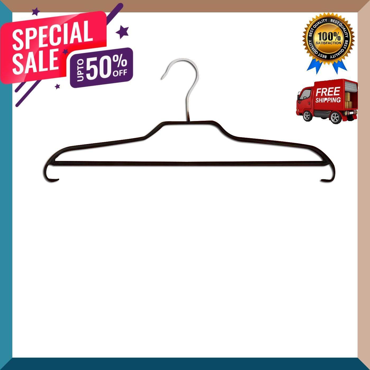 ไม้แขวนอเนกประสงค์ Imex รุ่น Non Slip 319640cm สีดำ อุปกรณ์รีดผ้า ไม้แขวนเสื้อ ดีไซร์สวยงาม ราวตากผ้า จัดส่งฟรี By Gus-Shop.