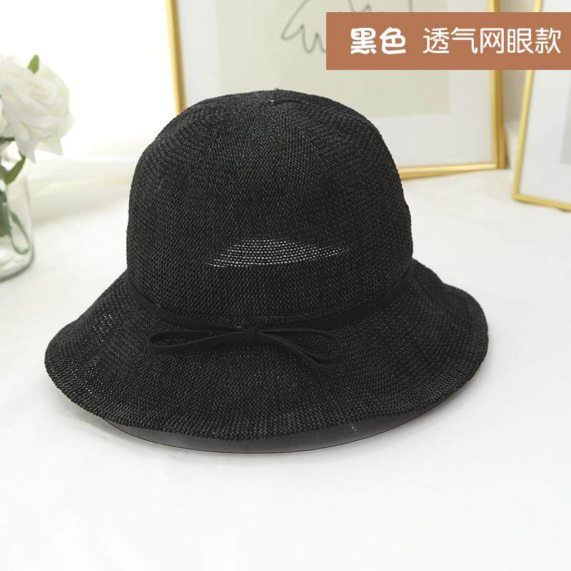 ed6dfebdef15a Spring And Summer Women s Sun-resistant Cotton Linen Small along the  Fisherman Hat Foldable Bowler