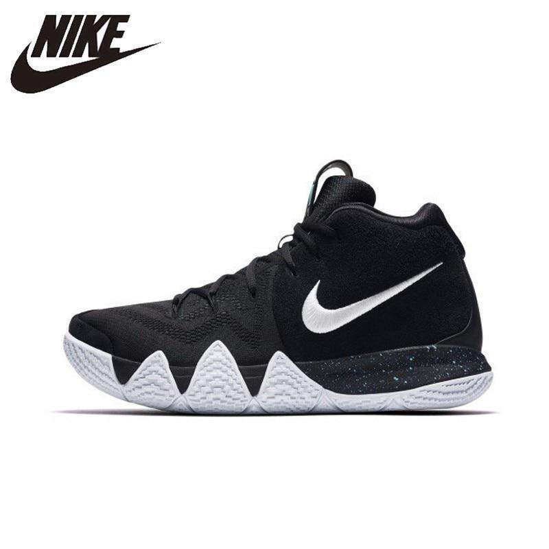_Nike _Kyrie 4 Ep Men Basketball Shoes Outdoor Comfortable and breathable Shock absorption anti-skid Wear resistant Sneakers black classic Good quality new