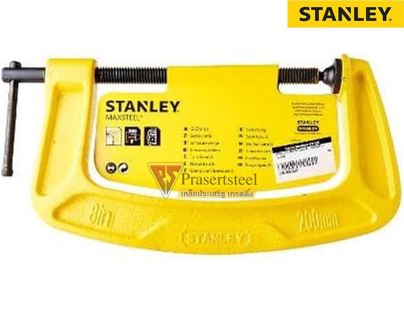 Stanley (83-032k) แคลมป์จับชิ้นงานรูปตัวซี ขนาด 2 นิ้ว.