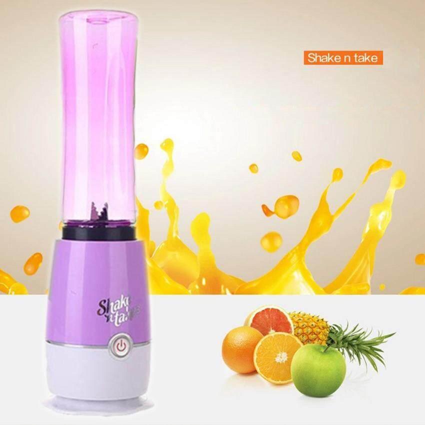 JOWSUA Juicer blender เครื่องปั่นสมูทตี้ (สีม่วง)