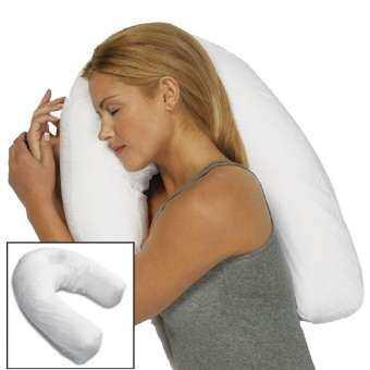 Side Sleeper Contour Pillow หมอนสำหรับคอ ไหล่ และหลัง หมอนสุขภาพ หมอนข้าง-