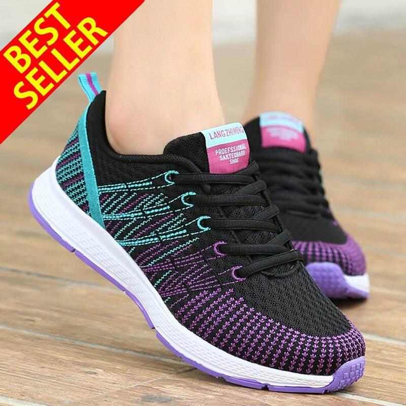 Qingshui ผู้หญิงกีฬารองเท้าวิ่งผู้หญิงกลางแจ้งระบายอากาศรองเท้าสบายแข็งแรงตาข่ายรองเท้าผ้าใบ.ผู้หญิงรองเท้าวิ่งผู้หญิงรองเท้าผู้หญิงรองเท้าผ้าใบ.