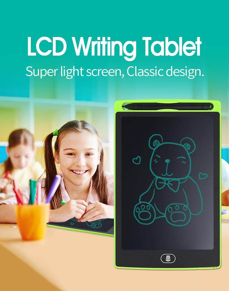 8.5 Lcd Ewriter Tablet Writing Drawing Pad Memo Message Board For Kids.