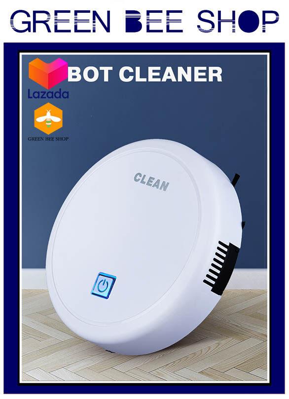 หุ่นยนต์ทำความสะอาด IR เซนเซอร์ในตัวเครื่องสำหรับตรวจจับสิ่งกีดขวาง สามารถเปลี่ยนทิศทางการใช้งานของตัวเครื่องได้อัตโนมัติ