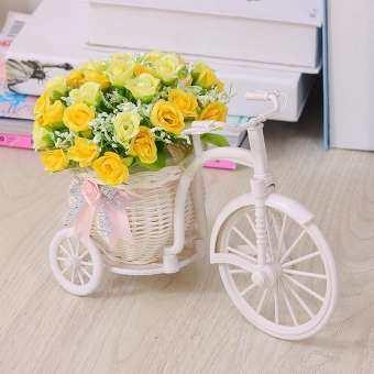58 ห้องนอนดอกไม้จำลองชุดรถเครื่องประดับเครื่องประดับขนาดเล็กพลาสติกช่อดอกไม้แห้ง Snnei ปิดโต๊ะชาสำนักงาน Asian Creative Luxury Art Works ดอกไม้ปลอม