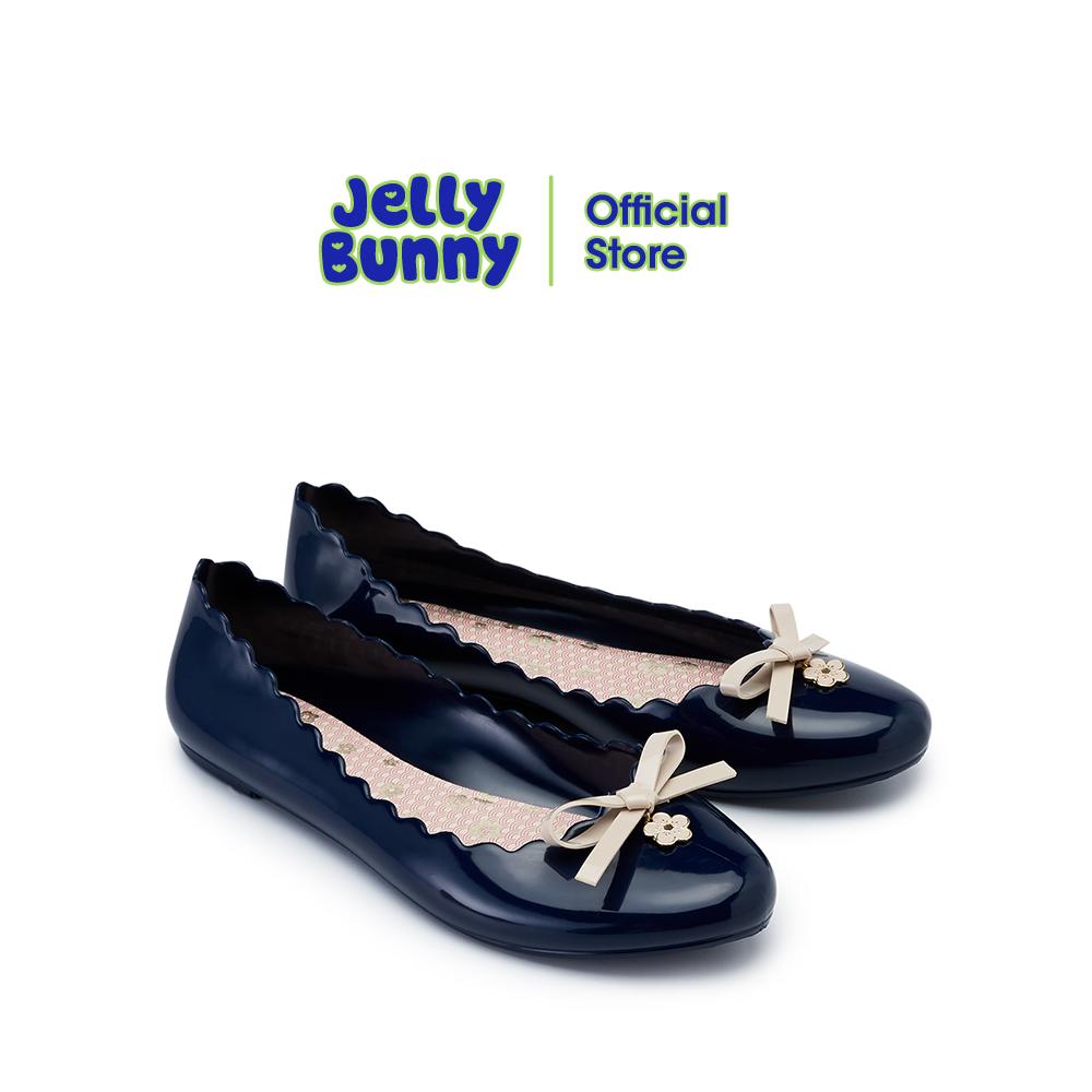 Jelly Bunny Sophie Sakura เจลลี่ บันนี่ โซฟี ซากุระ รองเท้าส้นแบน รองเท้าบัลเล่ต์ รองเท้าหุ้มส้น.