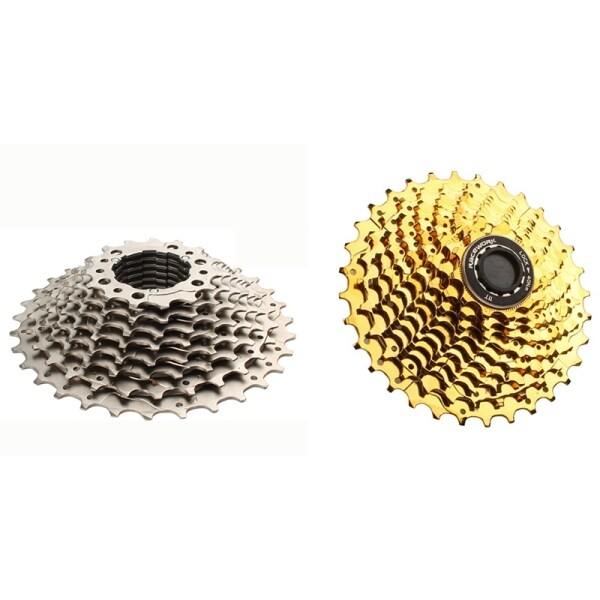 Phân phối RaceWORK 2 Pcs 11 Speed Road Bike Cassette 11-28T Bike Flywheel Sprocket