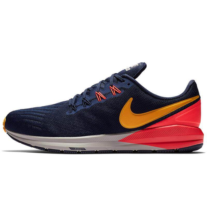 _NIKE men running shoes _AIR ZOOM STRUCTURE 22 sneakers AA1636-400