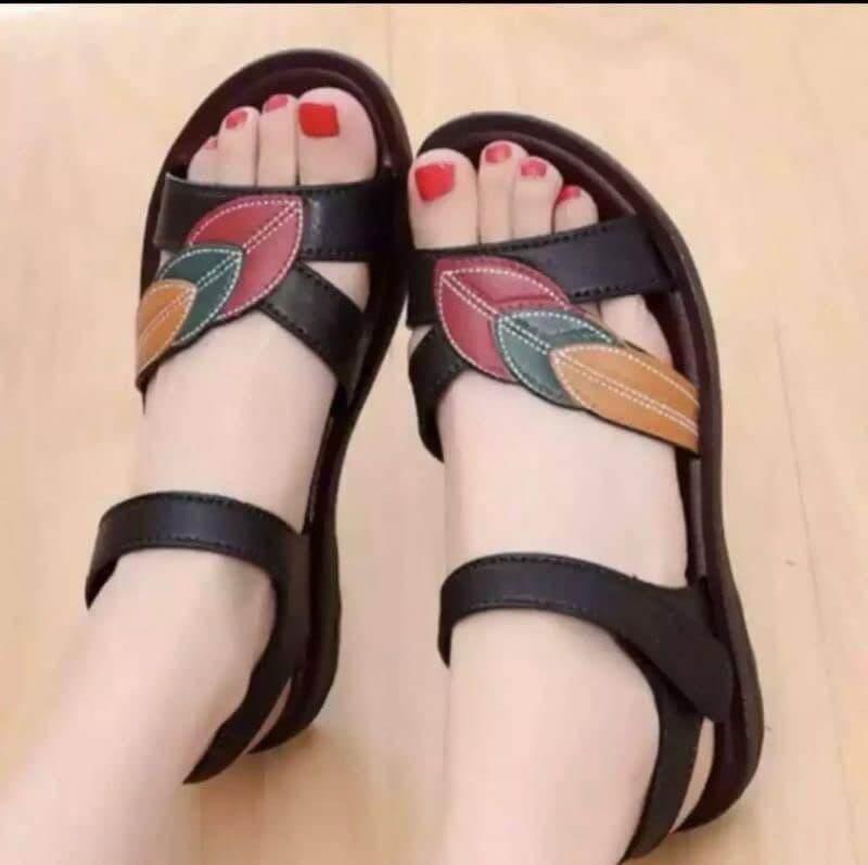 Deaconbrand_shopรอวเท้าแตะยางพารา รองเท้าแฟชั่นพร้อมส่งไซส36-40