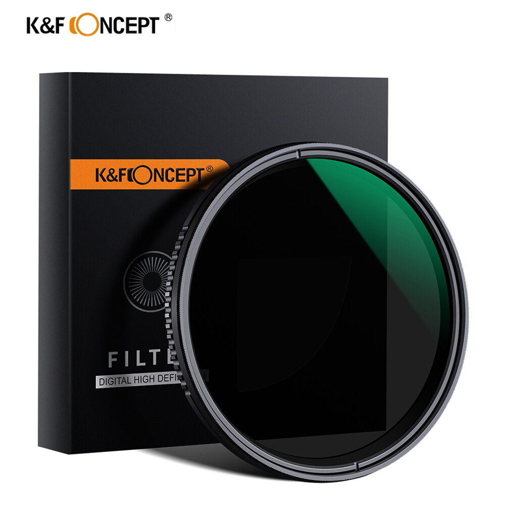 K&f Concept 77mm Nd8-Nd2000 Nd Filter Variable Neutral Density Filter For Camera Sony Nikon Canon Dslr Camera Lense With Multi-Resistant Coating.