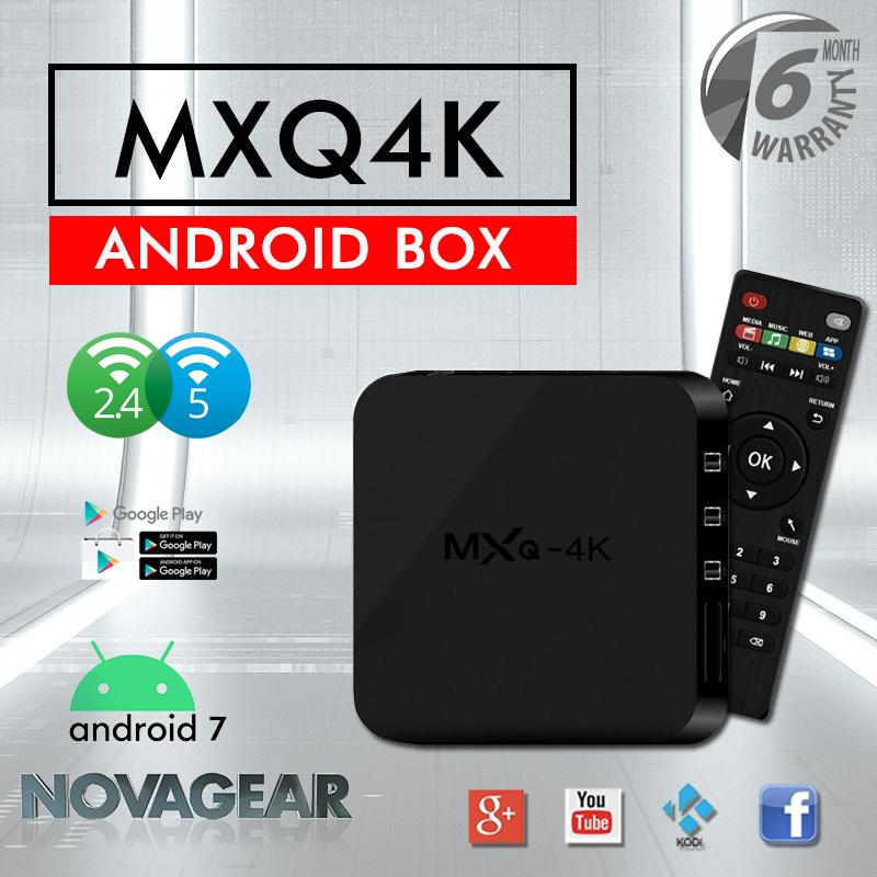 กล่องแอนดรอยด์ Mxq Pro แอนดรอยด์ 7.1 แรม 1g รอม 8gb, เชื่อมต่อไวไฟ 2.4ghz /5ghz แลน, เข้าเว็บ ดูหนัง ดูฟรีทีวีออนไลน์ โหลดแอพฟรีที่ Play Store, รองรับเล่นเกมผ่านแอพ ฟังเพลง ยูทูป และอื่นๆอีกมากมาย ใช้งานง่าย สามารถเชื่อมต่อเม้าส์ คีย์บอร์ดผ่าน Usb.