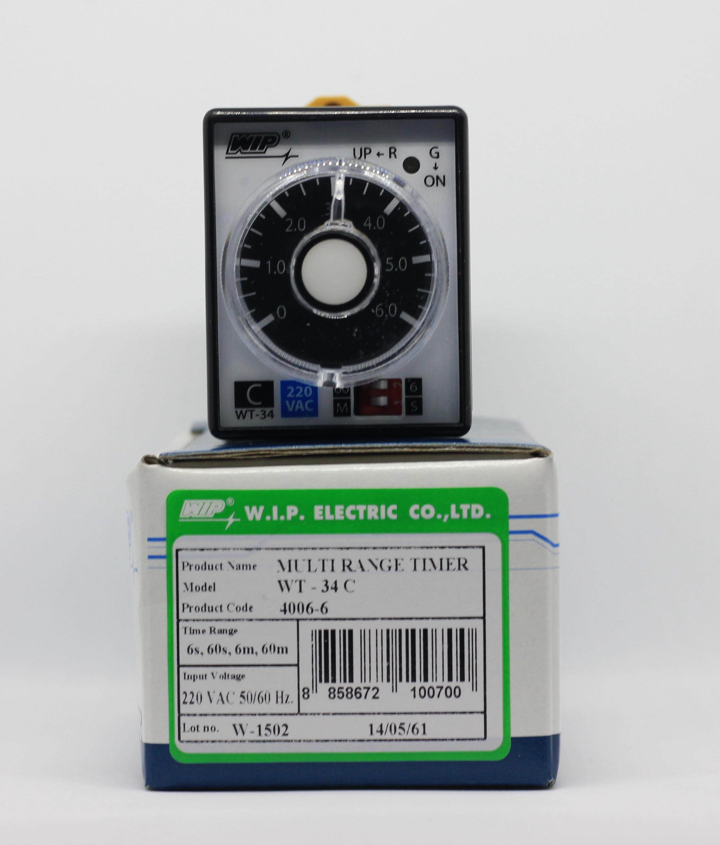 ไทม์เมอร์ Wip Wt-34c.