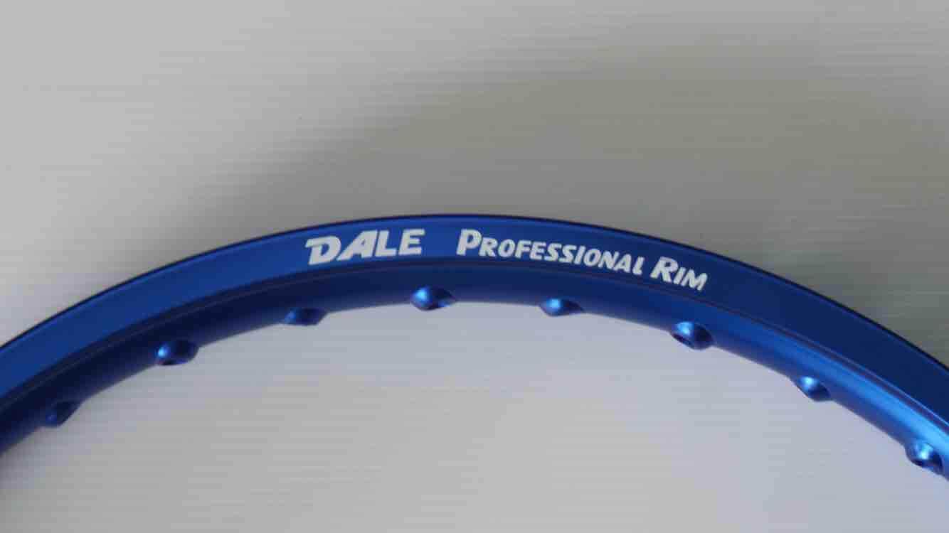 ล้อเดล Dale 1.4ขอบ17 ราคาต่อคู่ทุกสี By Pb Racing.