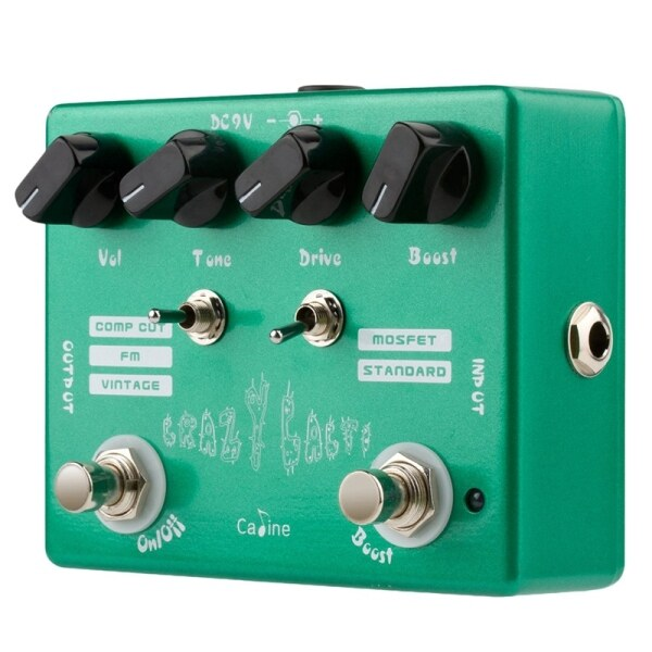 Caline CP-20 Crazy Cacti Overdrive Guitar Effect Pedal True Bypass Effects Guitar Accessories Malaysia
