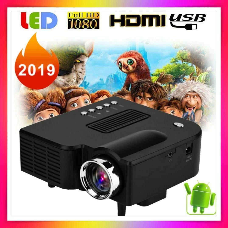 Projector โปรเจคเตอร์ Uc28 Pro เครื่องฉายโปรเจคเตอร์ จอโปรเจคเตอร์ เครื่องโปรเจคเตอร์ มินิโปรเจคเตอร์ สำหรับดูหนัง เล่นเกมส์ และสนุกสนานในครอบครัว Mini Led Projector.