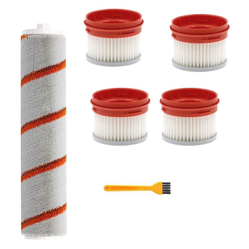 HEPA Filter for Xiaomi Dreame V9 Wireless Handheld Vacuum Cleaner Accessories Hepa Filter Roller Brush Parts Kit