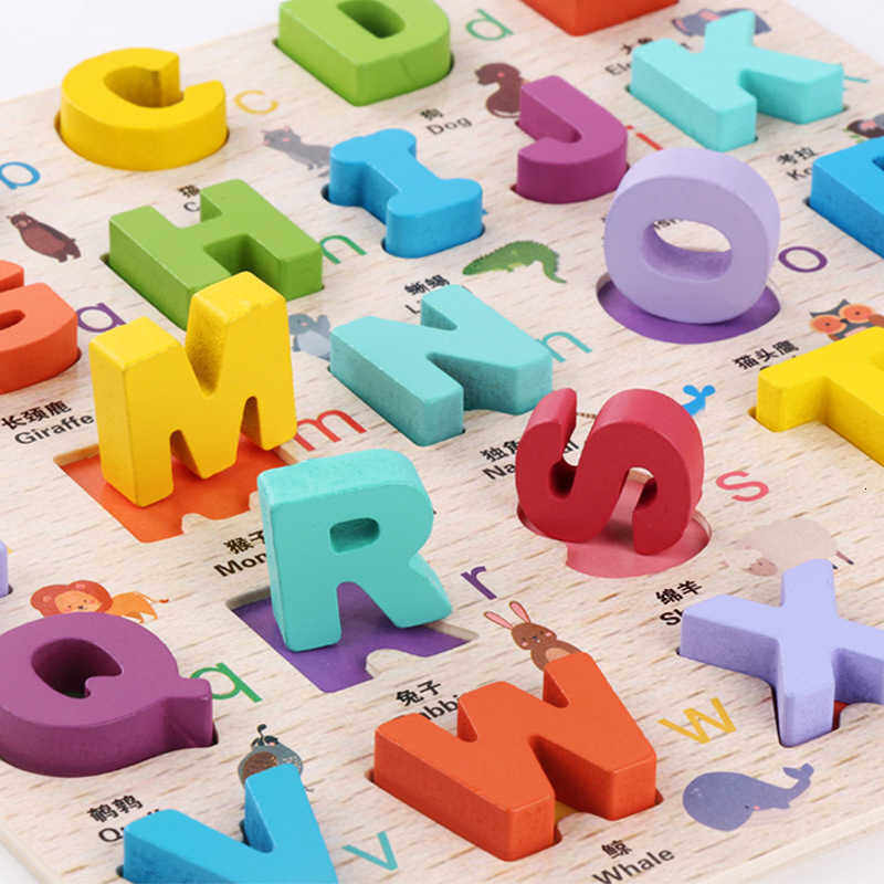 Children Alpinia Toys Number Letter Imposition Case Write Number Cognition Count Developing