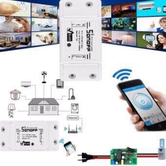Sonoff Smart Wifi Switch DIY Remote Wireless Smart Switch Domotica Wifi  Light Switch - White (4 PCS)