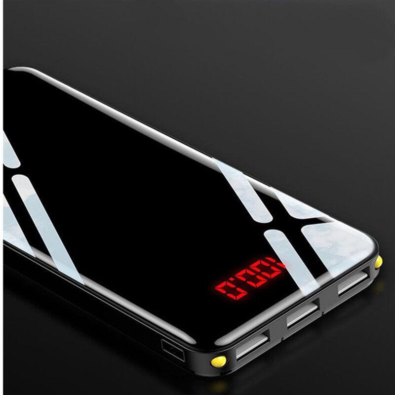 Mini Power Bank 30000mah For Xiaomi Samsung Iphone Huawei Powerbank Portable Charger Mini Dual Usb Fast Charging ( พาวเวอร์แบงค์ แบตเตอรี่สำรอง).
