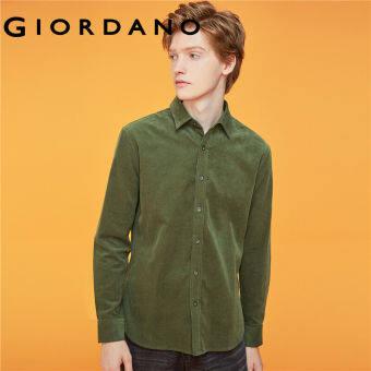 Giordano Men ชุดเดรสถัก มีรอยผ่าข้าง ทรงcorset สีเดียว Free Shipping 13049801