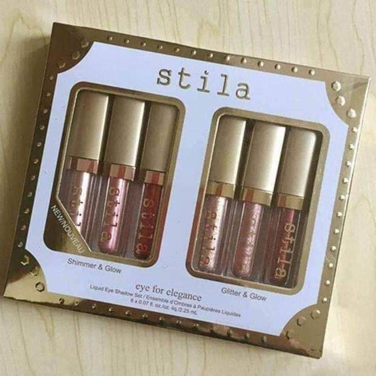 Stila ราคาส่ง ลิป Stila เซ็ต 6 ชิ้น 6 สี และทาตา Stila เซ็ต 6 ชิ้น 6 สี.ทักไลน์มานะจ้า.