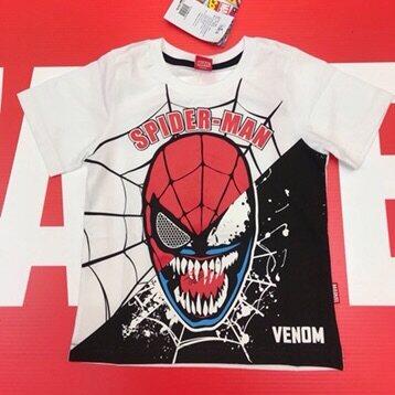Spider-Man Cotton T-shirt 3-5-7-9