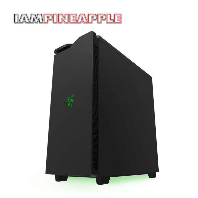 Nzxt Case H440 Design By Razer [black] By Jura.