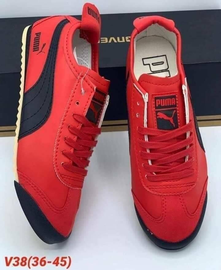 Puma รองเท้าผ้าใบแฟชั้น รองเท้ายอดฮิต รองเท้ายอดนิยม พูม่า.
