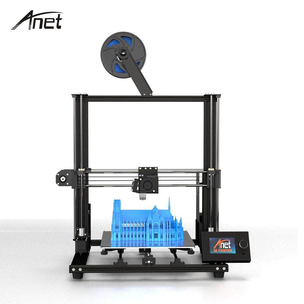 3d Printer Anet A8 Plus 2019 Printing Size:300*300*350mm Diy 3d Printer High Precision Metal Desktop (สินค้าประกอบเอง) By Print3dpro.net.