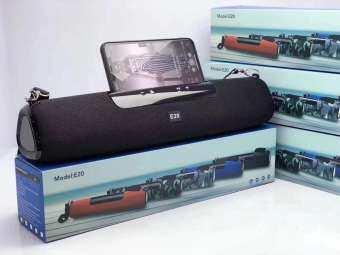 NEW ลำโพงบลูทูธทรงยาว Speaker & Sound Bar E20 เสียงใส มีมิติ ดังกระหึ่ม เบสหนัก เสียงแน่น (แถมฟรี สายชาร์จ) ของแท้ คุณภาพดี-