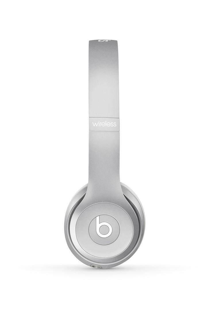 บีทส์ หูฟังไร้สาย�บบครอบหู สีเงิน Beats Solo2 Wireless Silver
