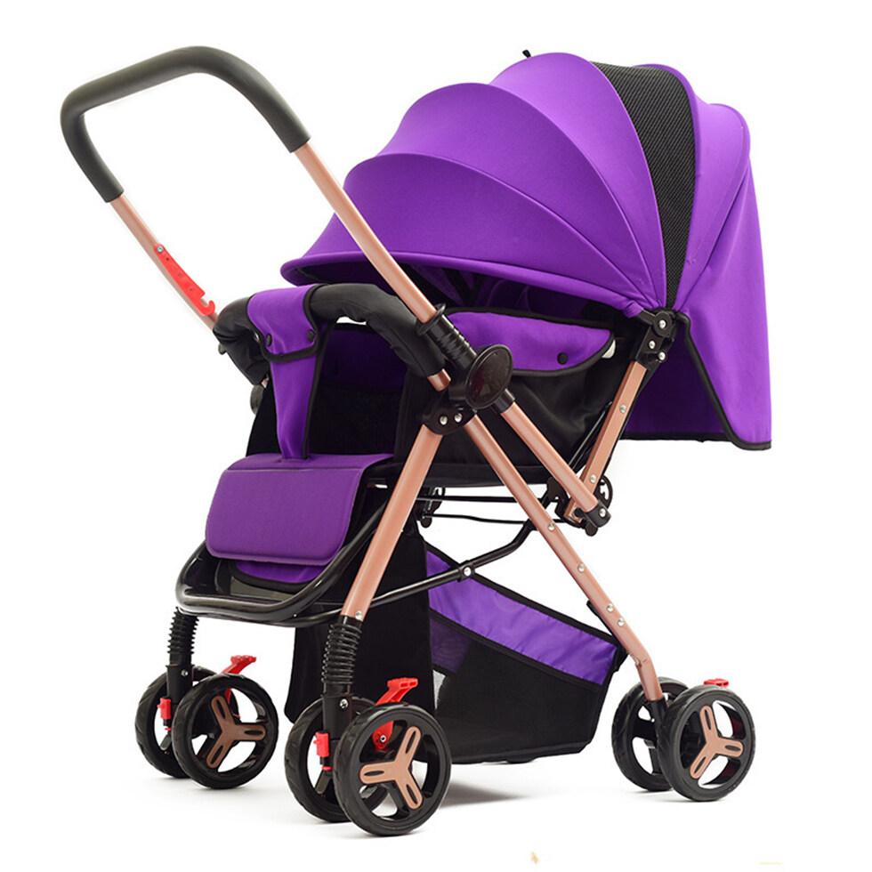 รีวิว รถเข็นเด็ก เข็นหน้า-หลังได้ ปรับเอนนอนได้ 3 ระดับ มีมุ้ง มีที่เก็บของด้านล่าง พับเก็บง่าย เคลื่อนย้ายง่าย