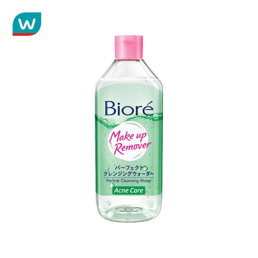 Biore บิโอเร เพอร์เฟค คลีนซิ่ง วอเตอร์ แอคเน่ แคร์ 400 มล..