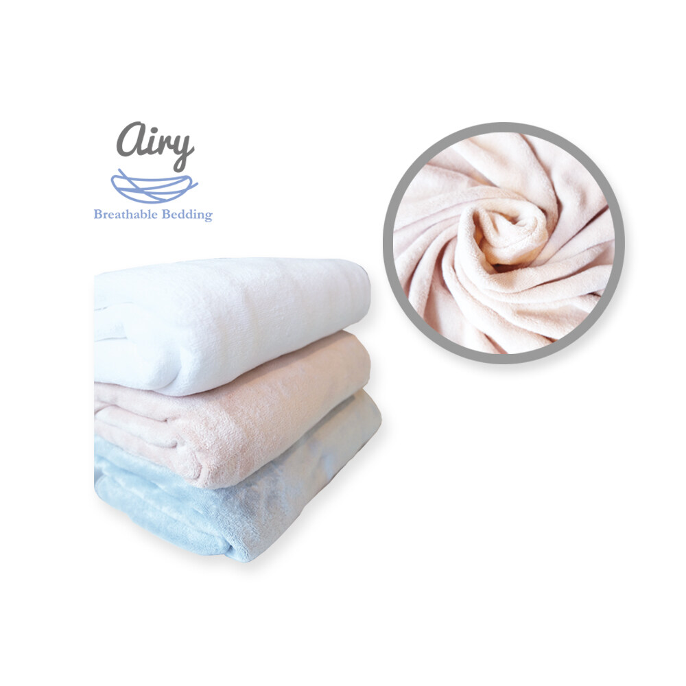 โปรโมชั่น แอร์รี่ ผ้าเช็ดตัวขนนุ่ม ขนาด 70*140 ซม. (ผ้าเช็ดตัว,ผ้าเช็ดตัวเด็ก,ของใช้เด็ก,อาบน้ำเด็ก)