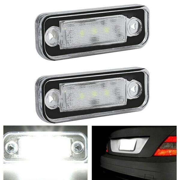LED License Plate Light Lamp Error Free for Benz Mercedes W203 5D W211 R171 W219