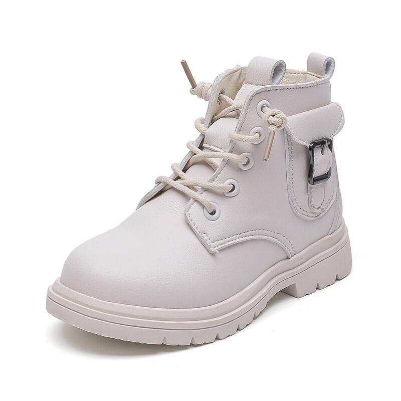 Giày da nam ở trang phục Anh quốc Giày trẻ em Bình thường Mùa thu mới Giày trẻ em đa năng P0ZD