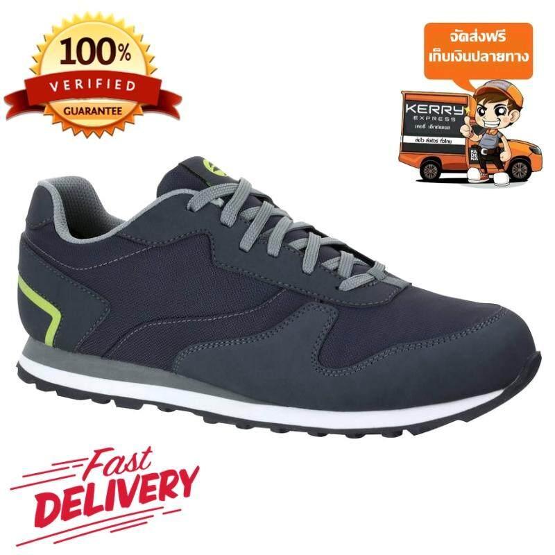 รองเท้ากอล์ฟสำหรับผู้ชาย แบบไร้ปุ่มยาง Inesis รุ่น 500 (สีเทา) สำหรับการเล่นกอล์ฟ ให้คุณสวมใส่สบายด้วยวัสดุกันน้ำและน้ำหนักเบา! *ฟรีค่าจัดส่ง* By Sportpoon Shop.