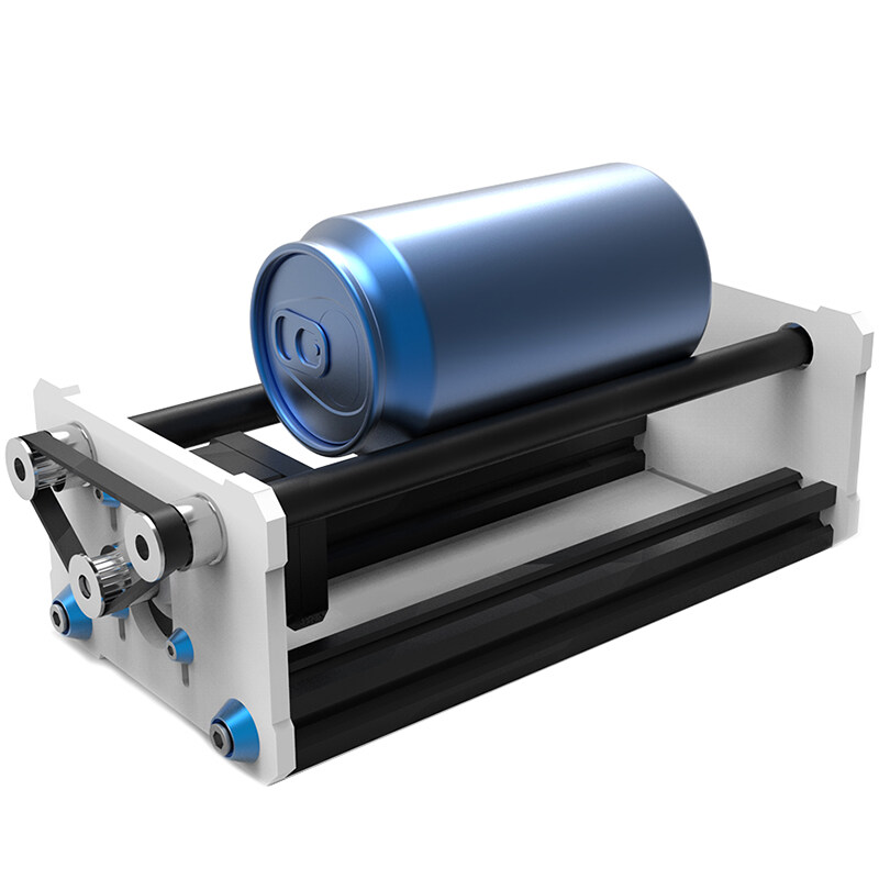 Rotate Engraving Module A3 Lasing Engraver Machine Y Axis Diy Update Kit with Stepper Motor Wire for Column Cylinder Engraving