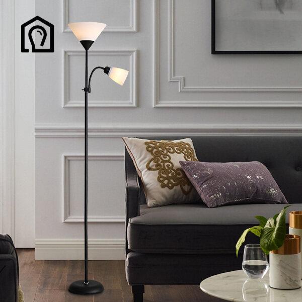 Bảng giá IHB043 Đèn sàn phòng khách tối giản hiện đại Bắc Âu cá tính sáng tạo phòng ngủ nghiên cứu trang trí đèn sàn