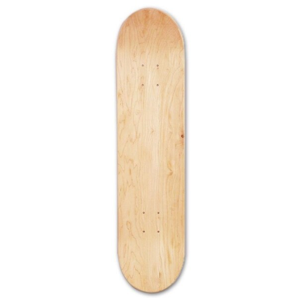 Mua 8Inch 8-Layer Maple Blank Double Concave Skateboards Natural Skate Deck Board Skateboards Deck Wood Maple