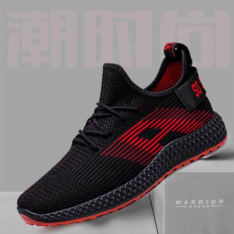 New Fashion รองเท้าผ้าใบ รองเท้าผ้าใบผู้ชาย รองเท้าแฟชั่น A-100