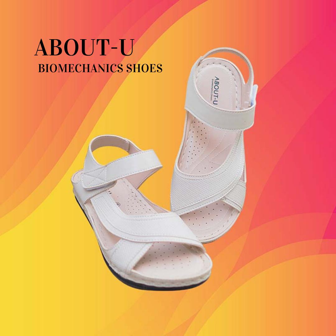 About-U รองเท้าเพื่อสุขภาพ รัดส้น สำหรับผู้หญิง ลดการเมื่อยเท้า ราคาสุดคุ้ม สายลุย.