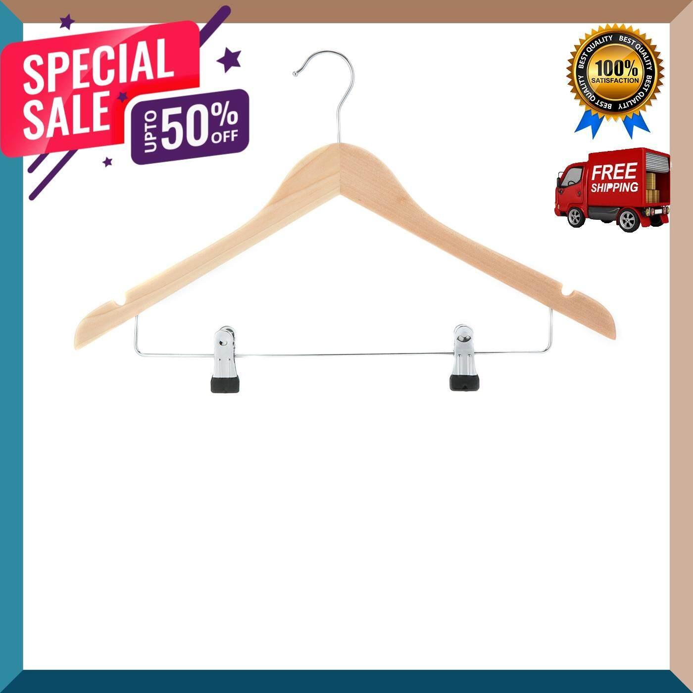 ไม้แขวนเสื้อพร้อมที่หนีบ Imex รุ่น 12404412mb อุปกรณ์รีดผ้า ไม้แขวนเสื้อ ดีไซร์สวยงาม ราวตากผ้า จัดส่งฟรี By Gus-Shop.