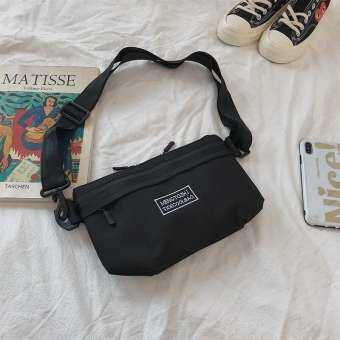 ผ้า Oxford กันน้ำกระเป๋าสะพายกระเป๋า Messenger ได้สบาย ๆ กระเป๋ากีฬาขี่กระเป๋าหน้าอก