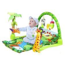 ราคา Baby Gift เพลยิมยีราฟ พร้อมโมบาย สีเขียว Baby Gift เป็นต้นฉบับ
