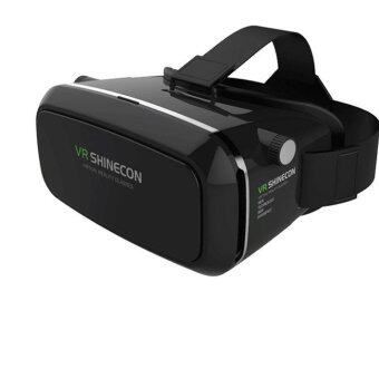 Babybear 3D Glasses VR Shinecon แว่นตา 3 มิติดูหนัง หรือเกมส์แบบ 3D ผ่านมือถือ (Black)